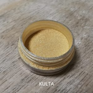 kulta mica purkissa