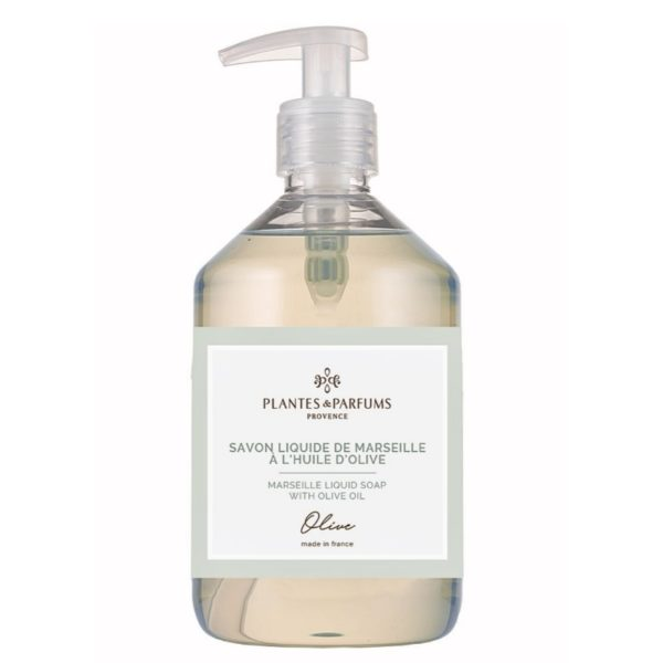 saippua pullo oliivi vaaleansinisellä etiketin kehyksellä
